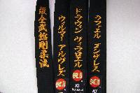 shotokan Bar stripe Rank line