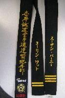 speaking Bar stripe shotokan