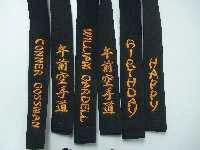 traditional yellow Gojuryu