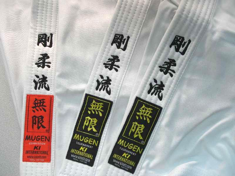 karate mugen uniform embroidery