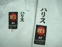 Rank line karate beginner
