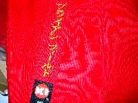 Remove Label stitching Thread Color